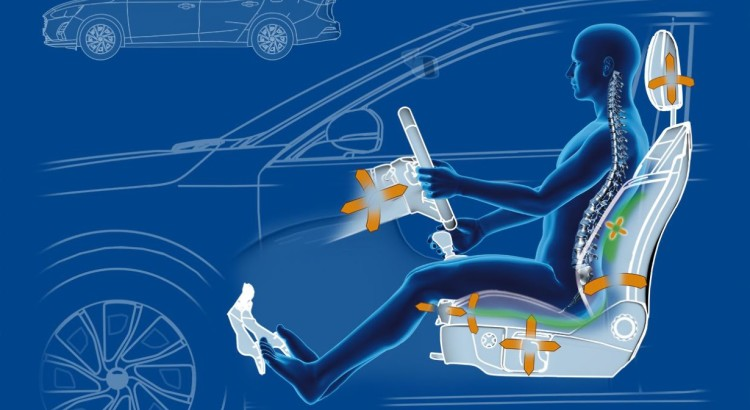 All-New Ford Focus Seats Praised by Medical Experts for Helping