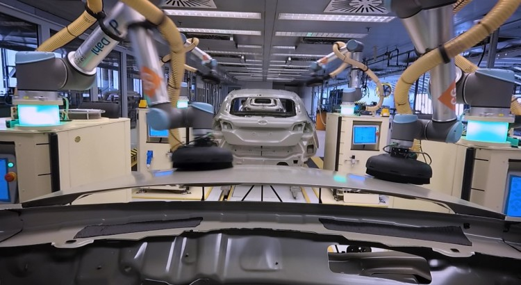 Ford Choreographs Robots to Help People – and Each Other – o
