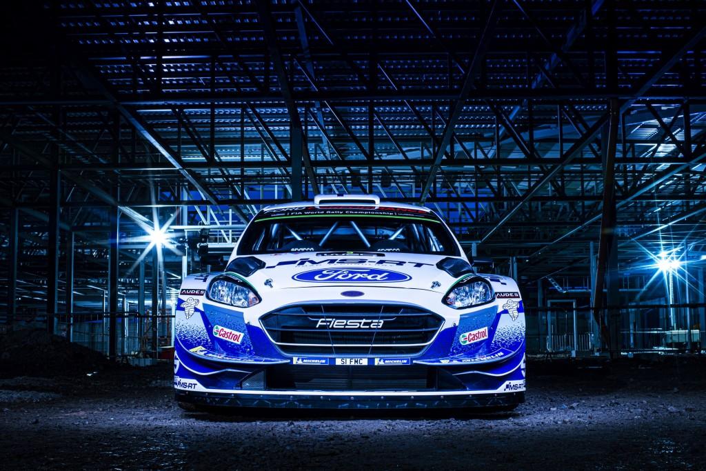 2020 FIA World Rally Championship Ford Fiesta WRC 2020 Livery  January 2020 Photo: Drew Gibson