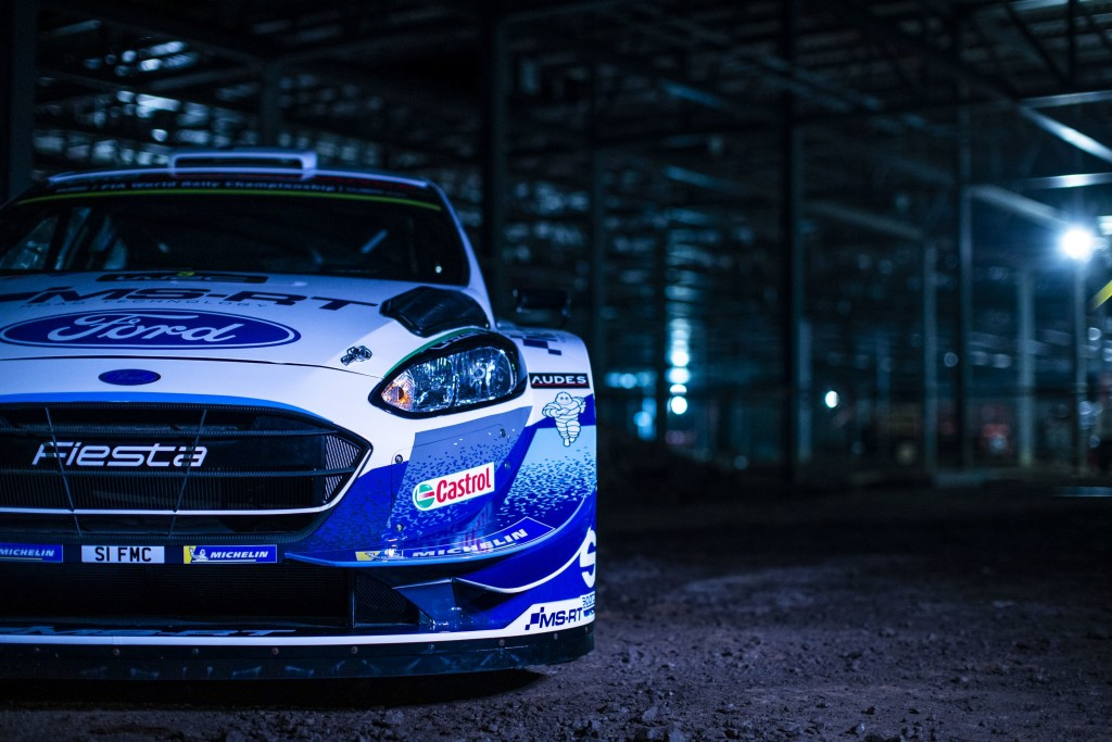 2020 FIA World Rally Championship Ford Fiesta WRC 2020 Livery  January 2020 Photo: Drew Gibson