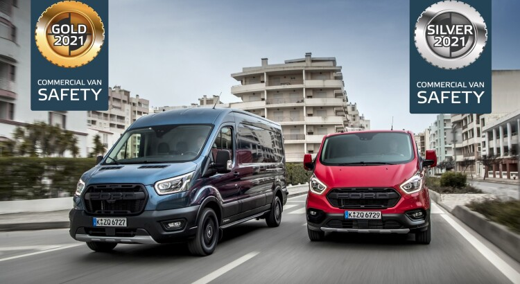 Ford Transit and Transit Custom Both Excel in Euro NCAP's Firs